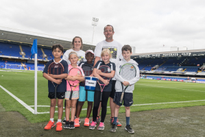 Fundraising collection at Ipswich Town FC raises just under £1,000 for Elena Baltacha Foundation