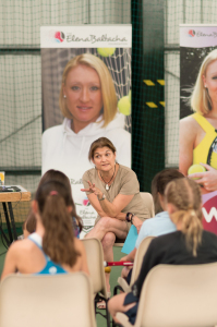 EBAT girls learn valuable life lessons during inspirational visit from WTA's Kathy Martin