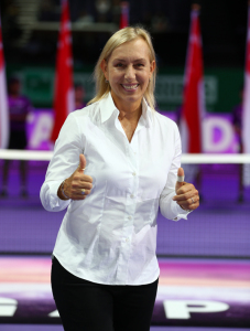 Martina Navratilova Announced as Elena Baltacha Foundation Patron
